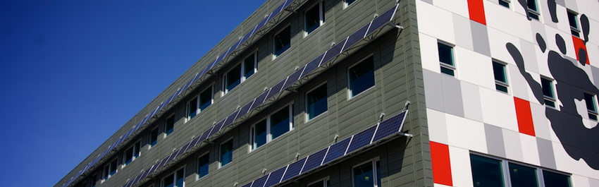 43.4 kW Building-Integrated Photovoltaic System, University of Calgary Child Development Centre