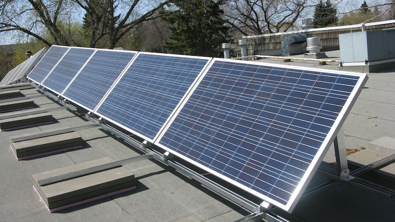 Ritchie Community Hall Solar PV Installation